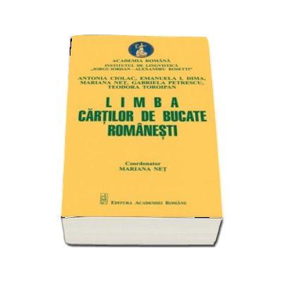 Limba cartilor de bucate romanesti