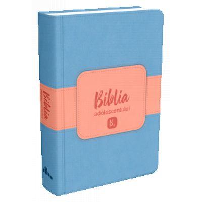 Biblia adolescentului, coperta albastra
