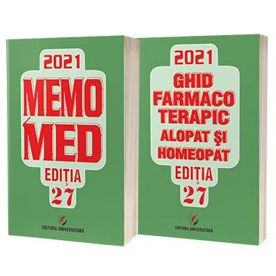 Memomed 2021, doua volume - Editia 27