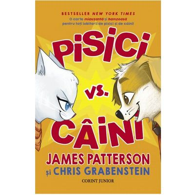 Pisici vs. Caini de James Patterson
