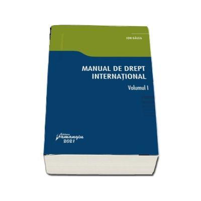 Manual de drept international. Volumul I