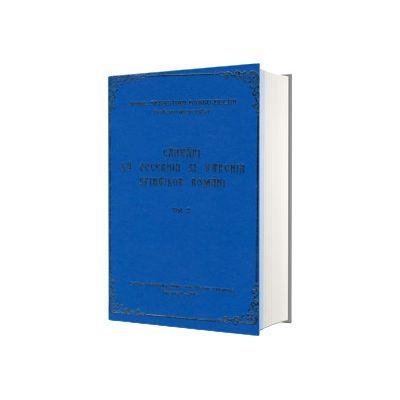 Cantari la Vecernia si Utrenia Sfintilor Romani, volumul II, Sebastian Barbu Bucur, Eibmo