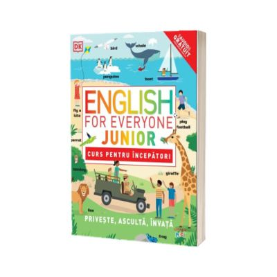 English for Everyone Junior. Curs pentru incepatori
