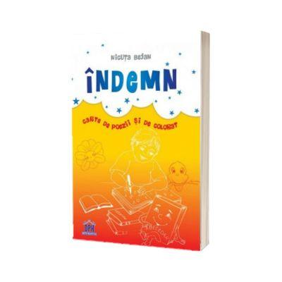Indemn: carte de poezii si de colorat