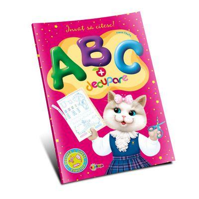 Marea carte de colorat. ABC si decupare