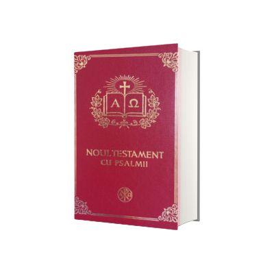 Noul Testament cu Psalmii, coperta grena