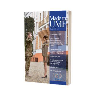 Revista MADE in UMF Numarul 2. Martie 2018