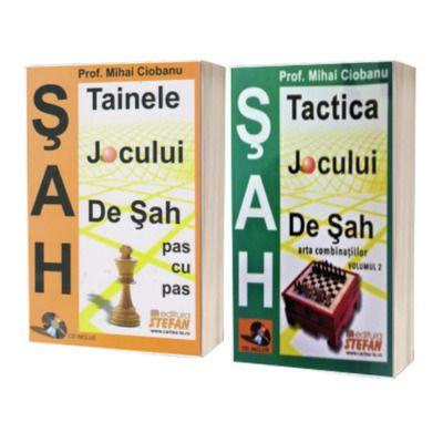 SAH - Volumele I si II - Tainele si tactica jocului de sah
