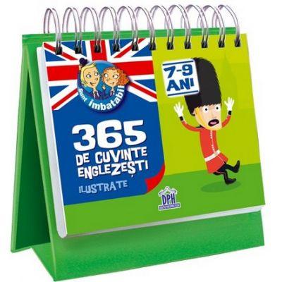Sunt imbatabil - 365 de cuvinte Englezesti ilustrate, 7-9 Ani
