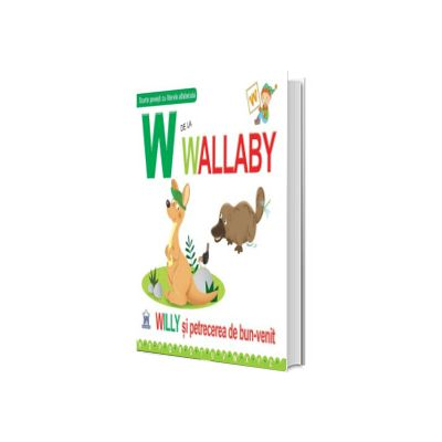 W de la Wallaby - Editie cartonata, Greta Cencetti, Didactica Publishing House
