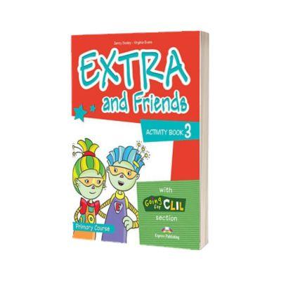 Curs de limba Engleza Extra and Friends 3 Caietul elevului, Jenny Dooley, Express Publishing