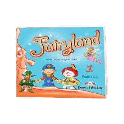 Curs de limba engleza Fairyland 1 Audio CD pentru elevi, Jenny Dooley, Express Publishing