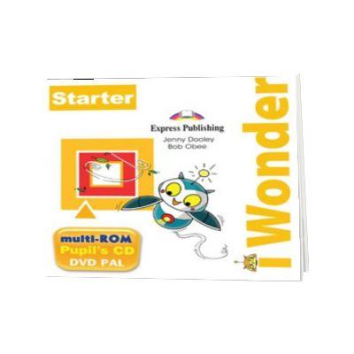 Curs de limba engleza I-Wonder starter multi-rom, Jenny Dooley, Express Publishing