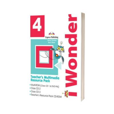 Curs de limba engleza iWonder 4 Material multimedia pentru Profesor set 4 CD, Jenny Dooley, Express Publishing