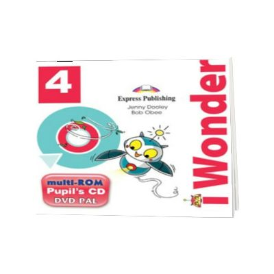Curs de limba engleza iWonder 4 Multi-ROM, Jenny Dooley, Express Publishing
