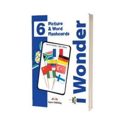 Curs de limba engleza iWonder 6 Picture si Word Flashcards, Jenny Dooley, Express Publishing
