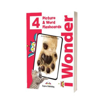 Curs limba engleza iWonder 4 Picture si Word Flashcards, Jenny Dooley, Express Publishing