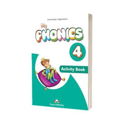 Curs limba engleza My Phonics 4 Caietul elevului Cross-Platform cu App, Jenny Dooley, Express Publishing