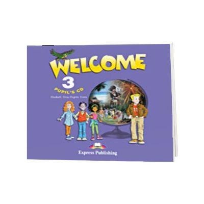 Curs limba engleza Welcome 3 CD elev, Virginia Evans, Express Publishing
