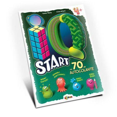 Marea carte de colorat. IQ start, 4ani