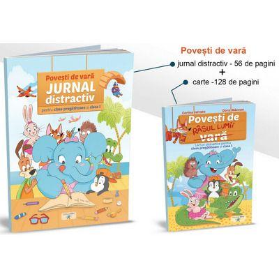 Povesti de vara (Povesti de rasul lumii si Jurnal distractiv), pentru clasa pregatitoare
