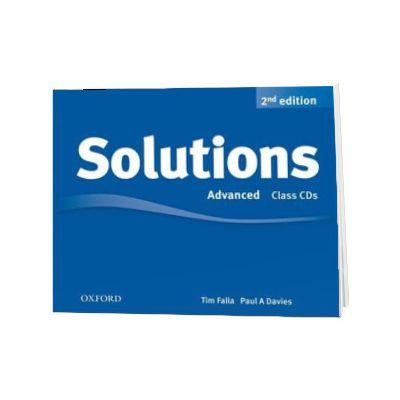 Solutions. Advanced. Class Audio CDs (3 Discs)