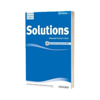 Solutions. Advanced. Teachers Book and CD-ROM Pack