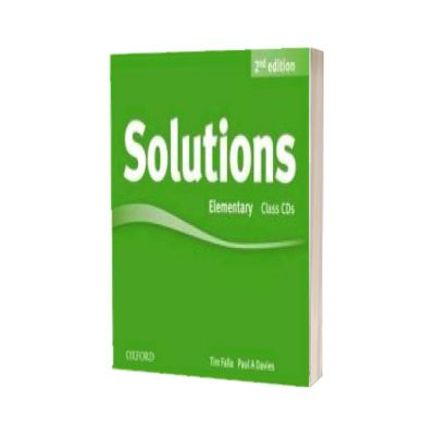 Solutions. Elementary. Class Audio CDs (3 Discs)