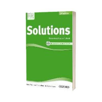 Solutions. Elementary. Teachers Book and CD-ROM Pack