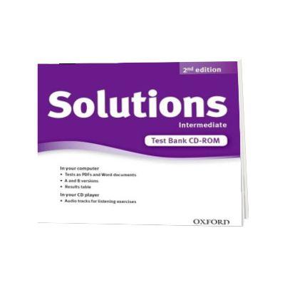 Solutions. Intermediate. Test Bank CD-ROM