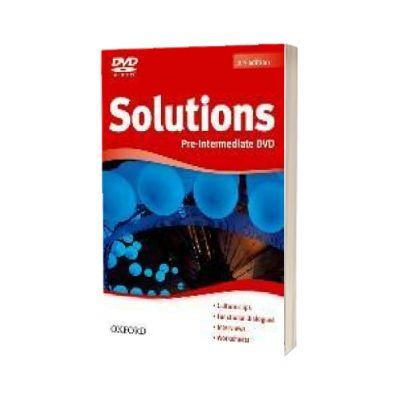 Solutions. Pre-Intermediate. DVD-ROM