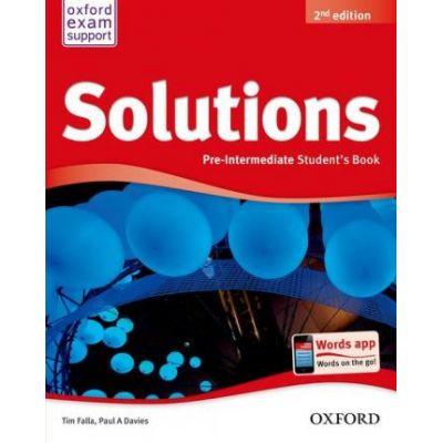 Solutions. Pre-Intermediate. Students Book