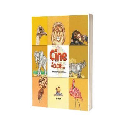Cine face... Animale si pasari din Africa (2-4 ani)