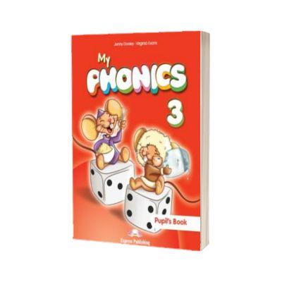 Curs de limba engleza My phonics 3 audio CD manual (Set of 2), Jenny Dooley, Express Publishing