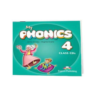 Curs de limba engleza My Phonics 4 Set 2 Audio-CD, Jenny Dooley, Express Publishing