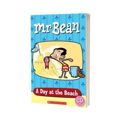 Mr Bean. A Day at the Beach, Sarah Silverton, SCHOLASTIC