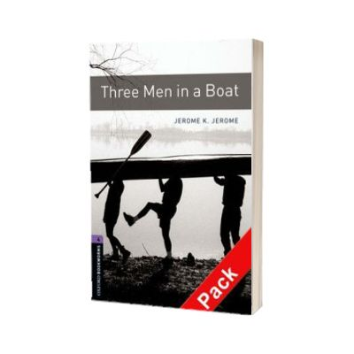 Oxford Bookworms Library Level 4. Three Men in a Boat audio CD pack, Jerome David Salinger, Oxford University Press