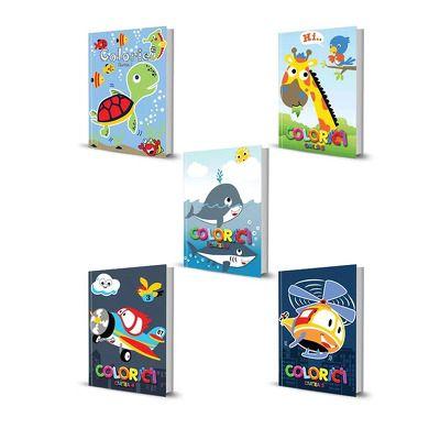 Pachet Colorici. Set 5 carti, volumele 1 - 5, Publisol