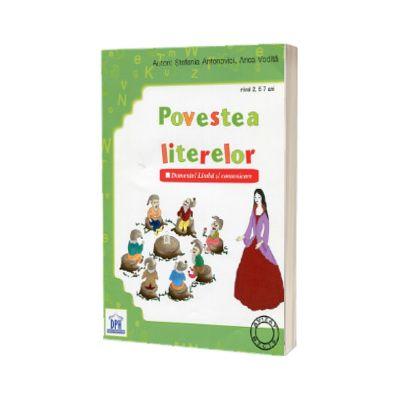Povestea literelor. Caiet auxiliar pentru invatamantul prescolar, nivel 2, 5-7 ani