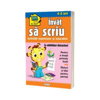 Scoala acasa - Invat sa scriu (4-5 ani), Girasol