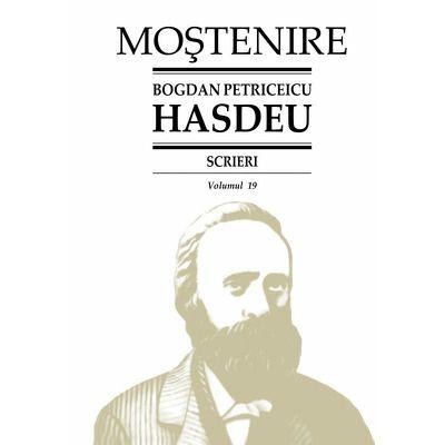 Scrieri. Folclor literar (2). Proza populara. Volumul 19, Bogdan Petriceicu Hasdeu, Stiinta