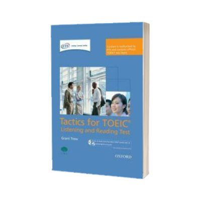 Tactics for TOEIC (R) Listening and Reading Test. Pack. Authorized by ETS, this course will help develop the necessary skills to do well in the TOEIC (R) Listening and Reading Test
