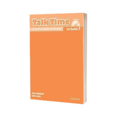 Talk Time 1. Test Booklet with Audio CD, Susan Stempleski, Oxford