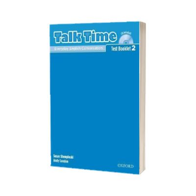 Talk Time 2. Test Booklet with Audio CD