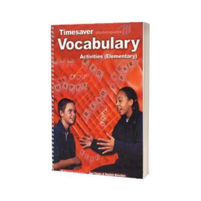 Vocabulary Activities Elementary, Sue Finnie, SCHOLASTIC