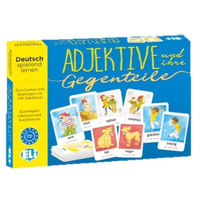 Adjektive und ihre Gegenteile A1-B1, ELI