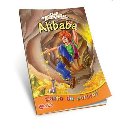 Alibaba. Carte de colorat