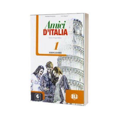 Amici d Italia 1. Eserciziario, Elettra Ercolino, ELI