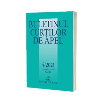 Buletinul Curtilor de Apel nr. 4/2021