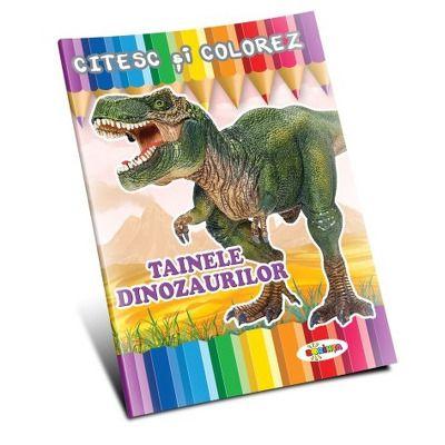 Citesc si colorez. Tainele dinozaurilor